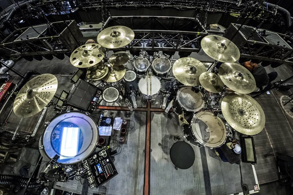 Rammsteins Drum Kit
