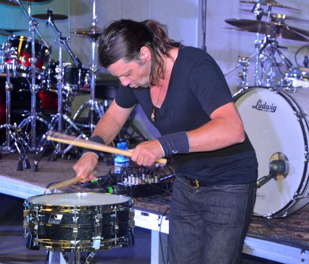 He also played very cool and spectacular snare drum solo