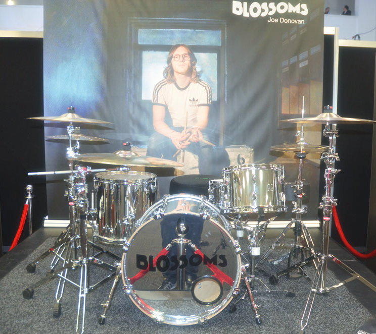 British Drum Co Booth at LDS 2016