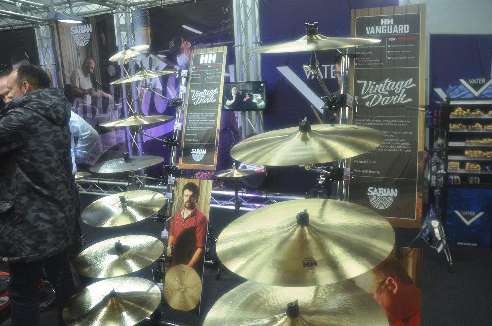 Sabian Cymbals at LDS 2016