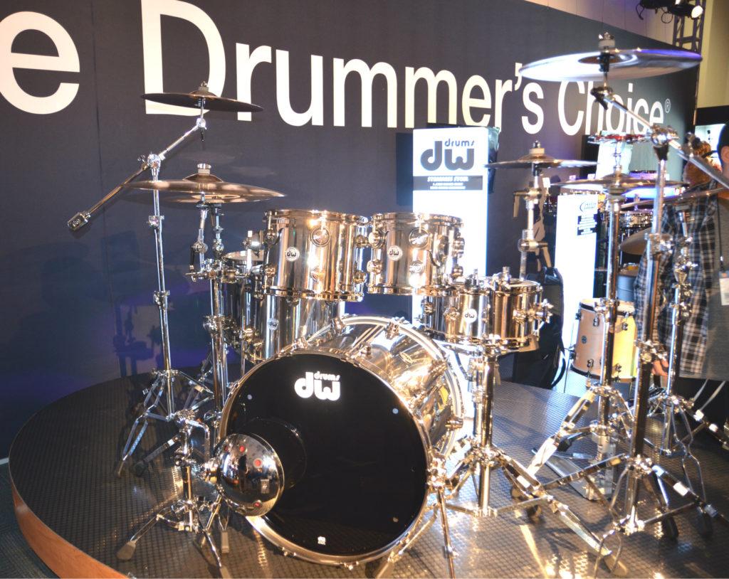 DW Drums NAMM Show 2017