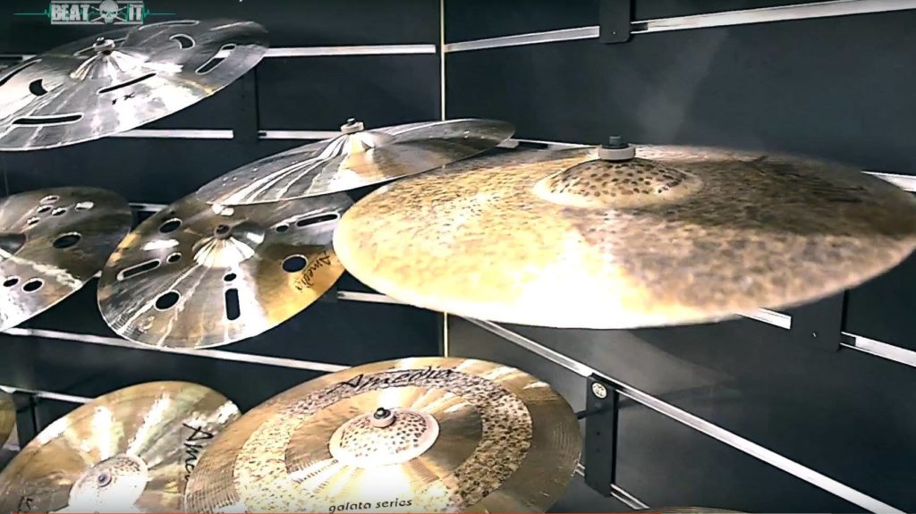 NAMM Show 2017: Amedia Cymbals Booth