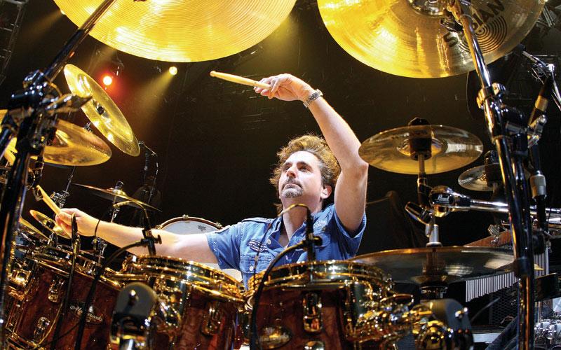 Todd Sucherman, Pearl Drums, Sabian Cymbals