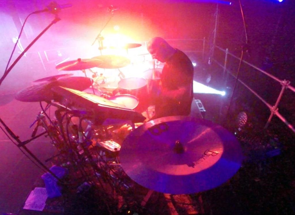 Drummer Adam Marszałkowski and Coma live