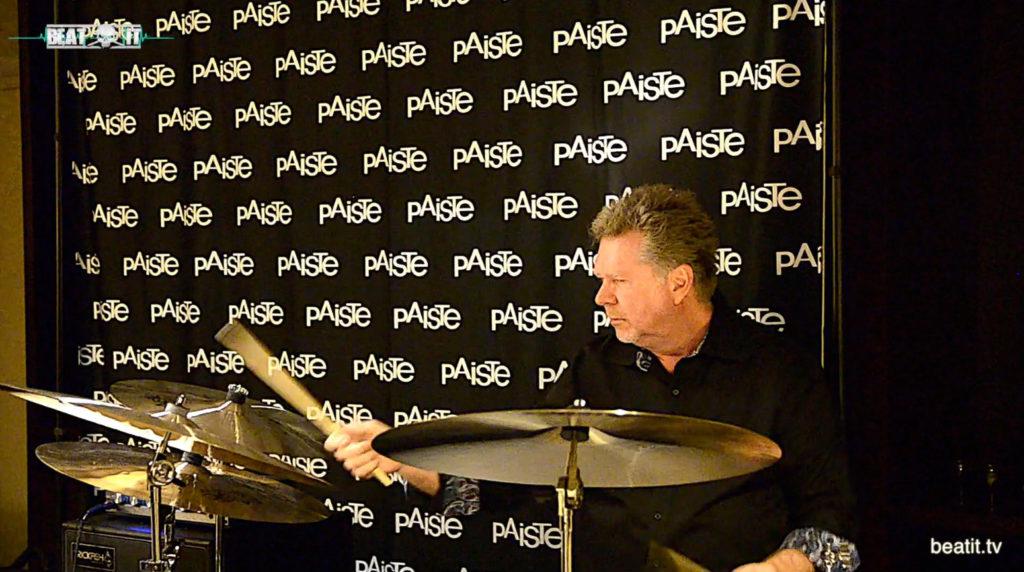 NAMM Show 2017: John JR Robinson presents Paiste Cymbals