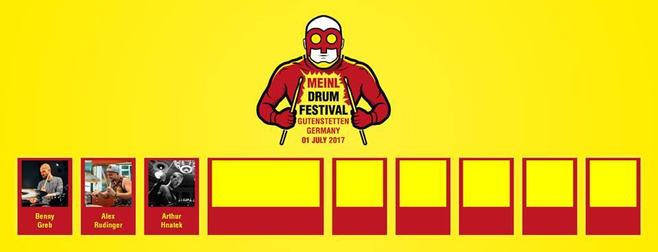 Arthur Hnatek will perform during Meinl Drum Festival 2017
