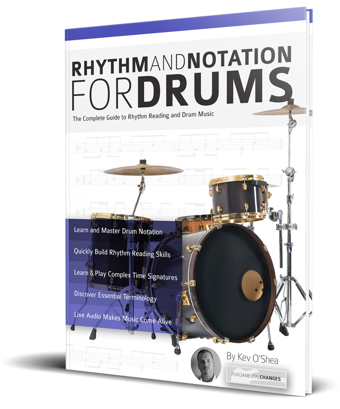 "Take a look at ""Rhythm and Notation for Drums"" book"