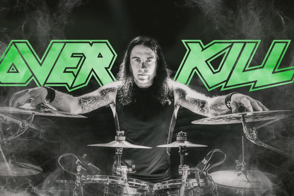 Jason Bittner joined Overkill