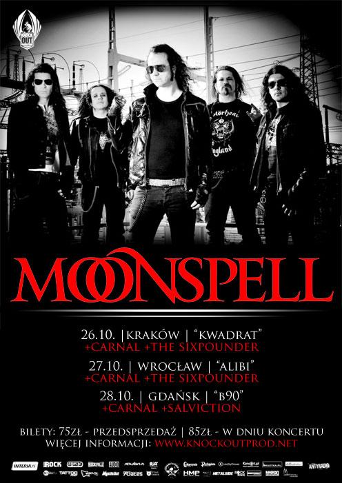 moonspell koncert