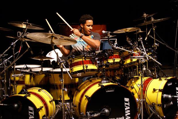 Ronald Bruner Jr. na TAMA 40th Anniversary Drum Festival