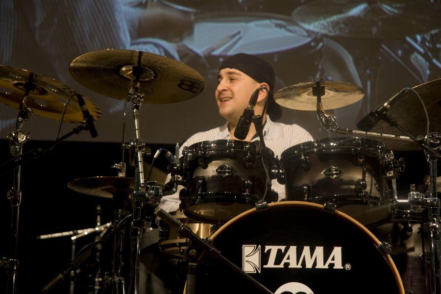 Felix Lehrmann na TAMA 40th Anniversary Drum Festival