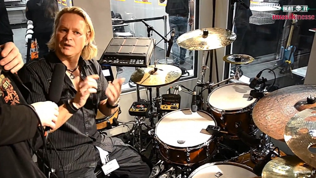Musikmesse 2014  Dirk Brand at the Roland p2