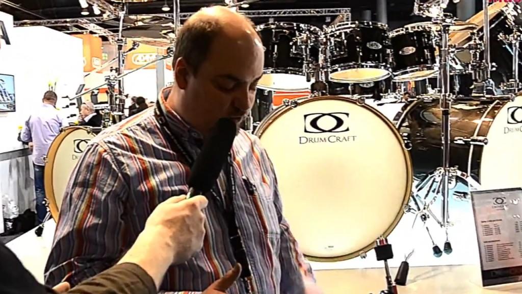 DrumCraft na Musikmesse 2014, cz.1