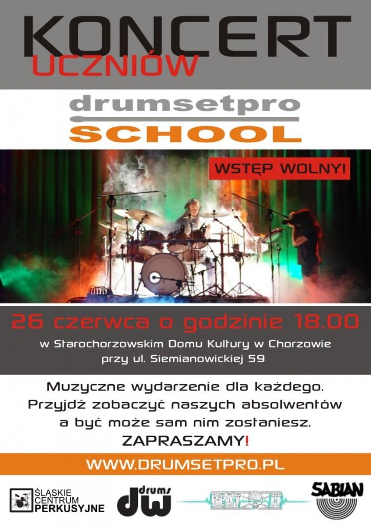 Koncert Uczniów Drumsetpro School 2014