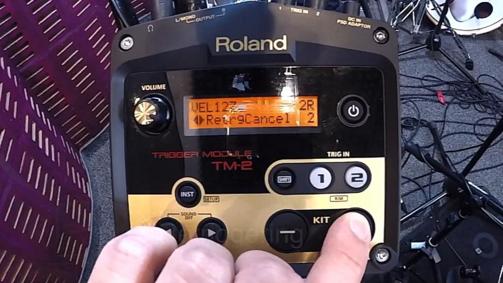 Roland TM-2 aktualizacja