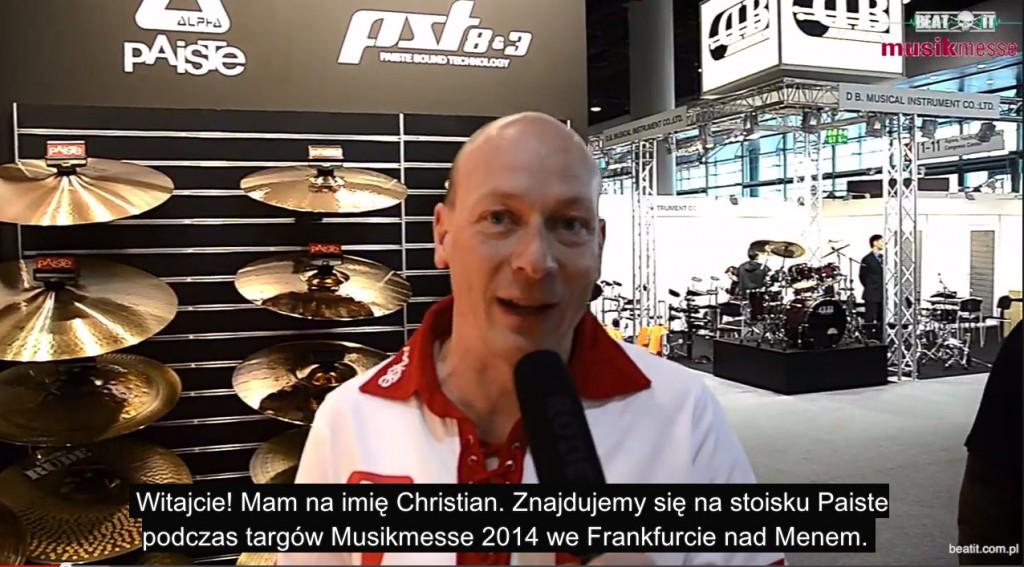 Musikmesse 2014: Paiste, cz. 3