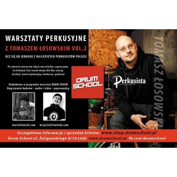 Warsztaty perkusyjne w Łodzi