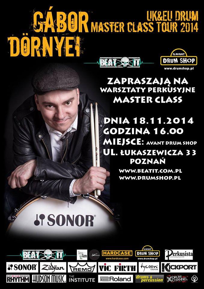 Gabor Dornyei w Poznaniu