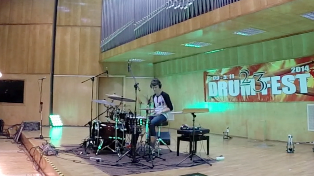 Young Drum Hero 2014, cz. 1