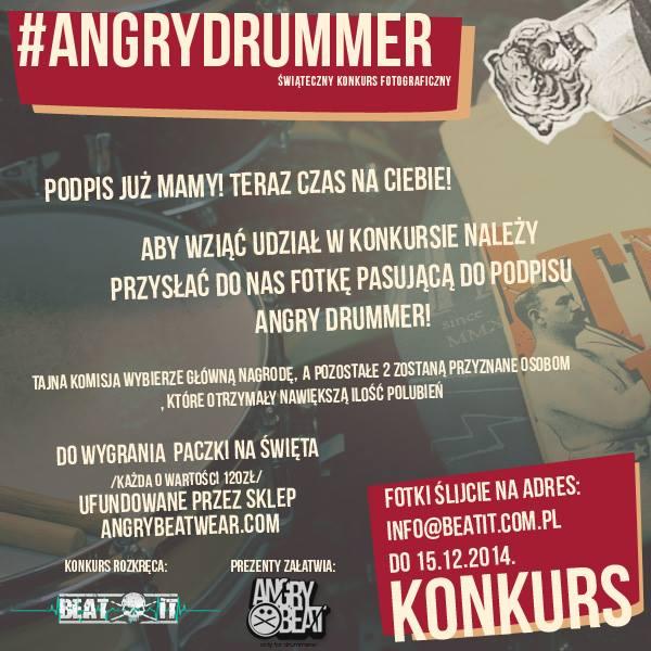 #AngryDrummer – konkurs