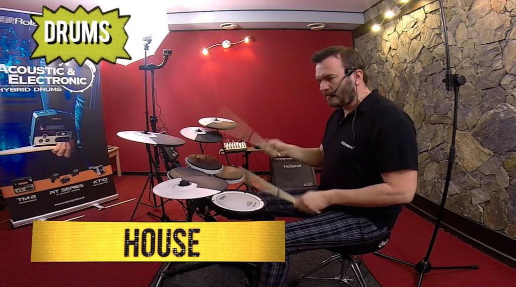 Mariusz Mocarski prezentuje perkusję elektroniczną ROLAND TD-1Kv