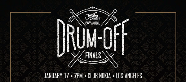 Guitar Center Drum-Off 2015