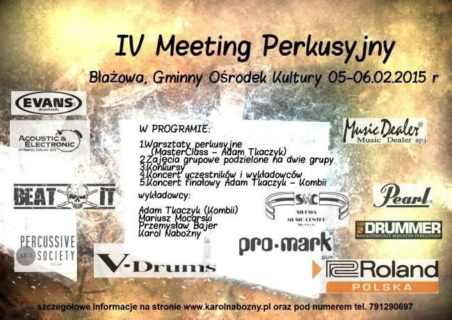 IV Meeting Perkusyjny