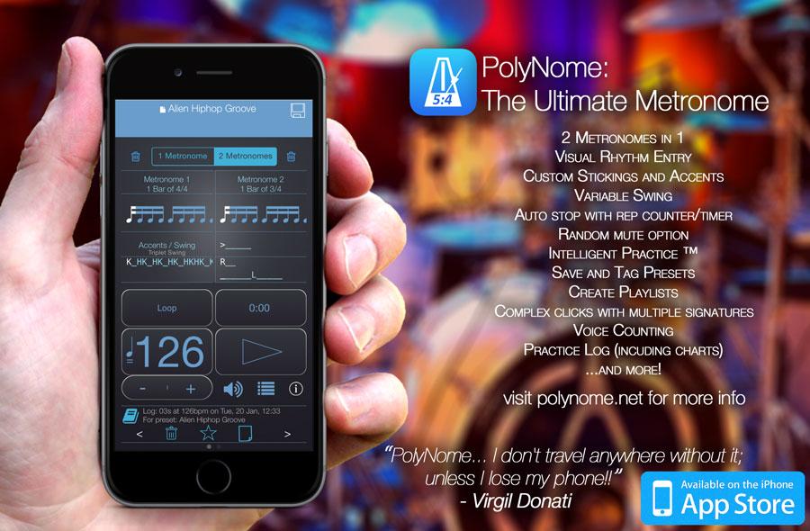 Nowa aplikacja metronomu