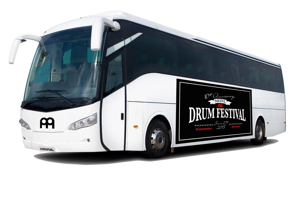 Autobusy na Meinl Festival 2015