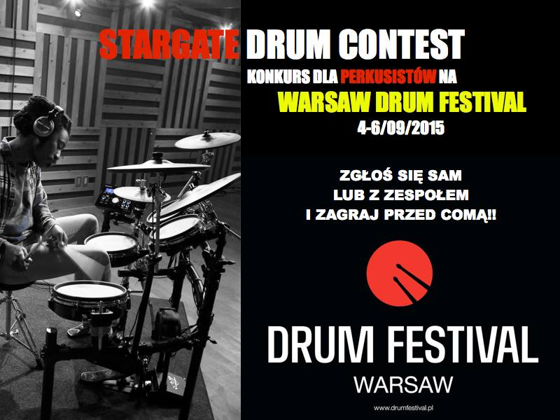 Konkurs w ramach Warsaw Drum Festival