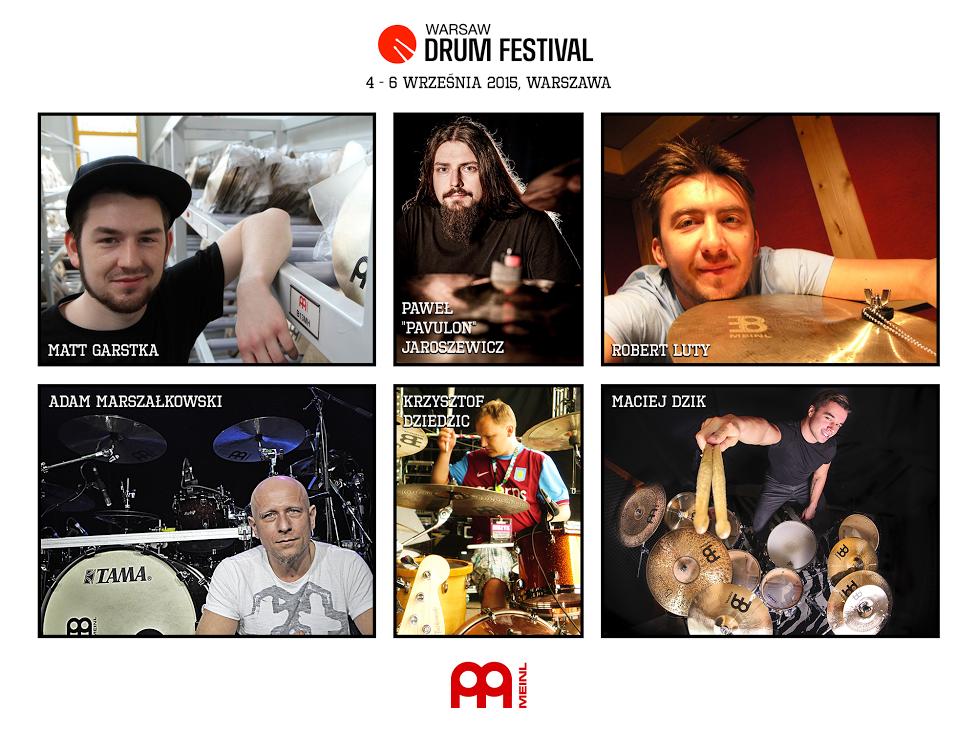 MEINL na Warsaw Drum Festival 2015