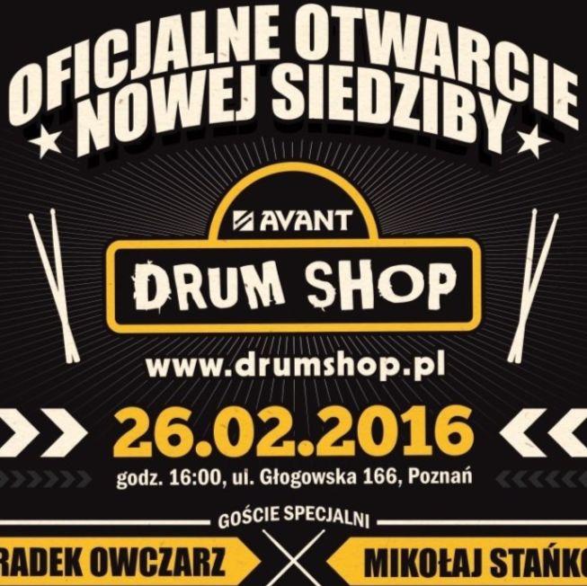Nowa siedziba Avant Drum Shop