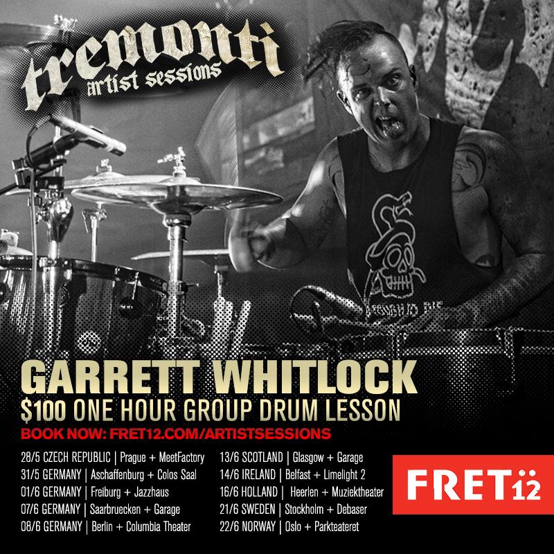 Garrett Whitlock – warsztaty
