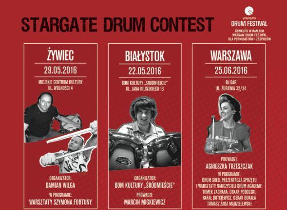 Stargate Drum Contest w maju