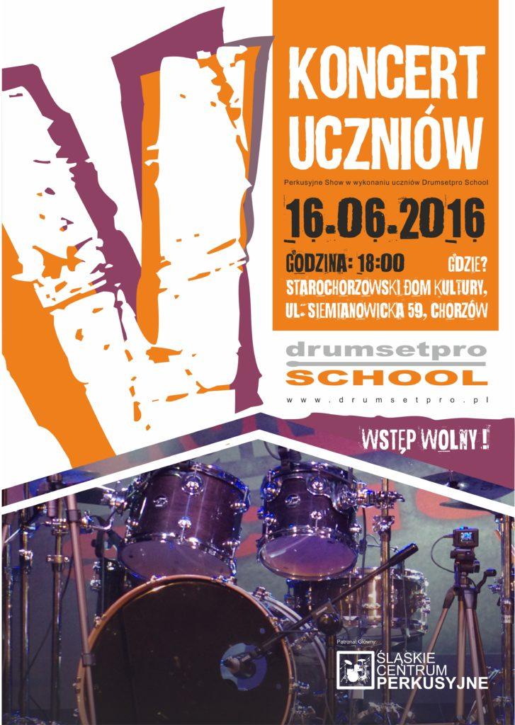 V koncert uczniów szkoły Drumsetpro School