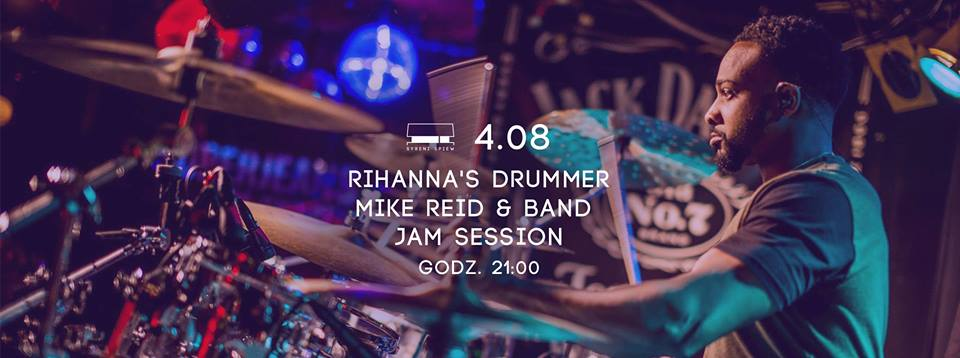 Jam Session z perkusistą Rihanny