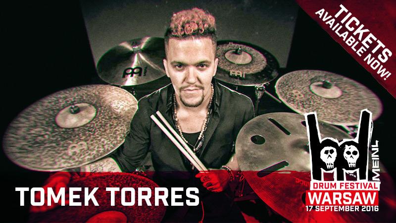 T. Torres na Meinl Drum Festival 2016