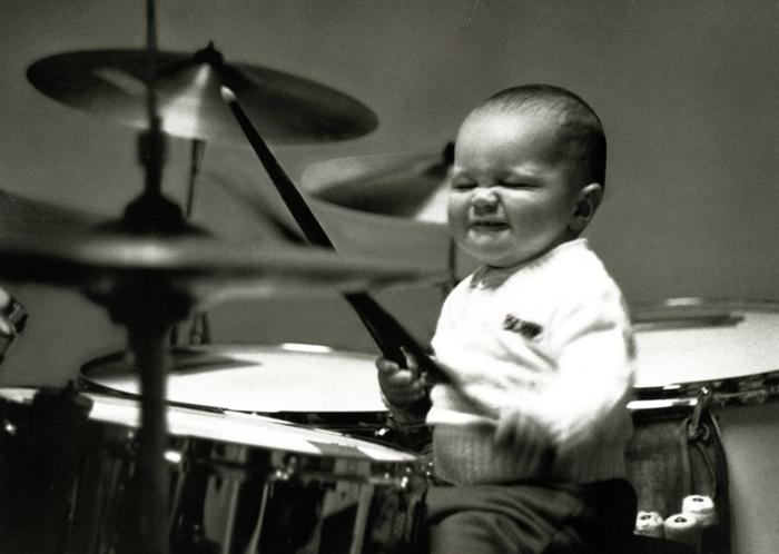 Granie na perkusji jest dobre dla zdrowia