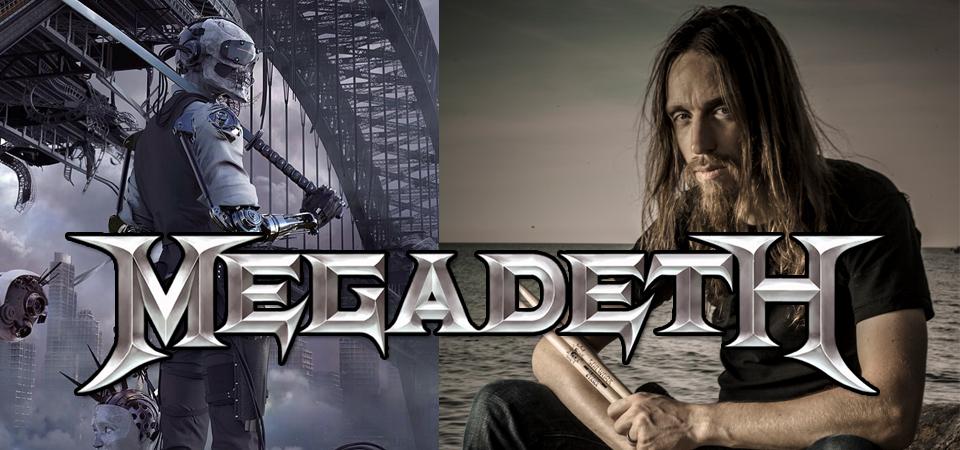 Dirk Verbeuren na stałe w Megadeth