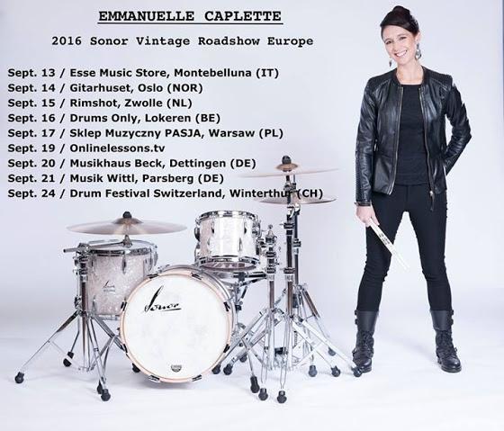 Emmanuelle Caplette w Polsce