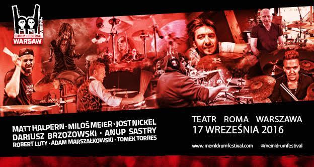 Meinl Drum Festival 2016 – kompletna lista artystów