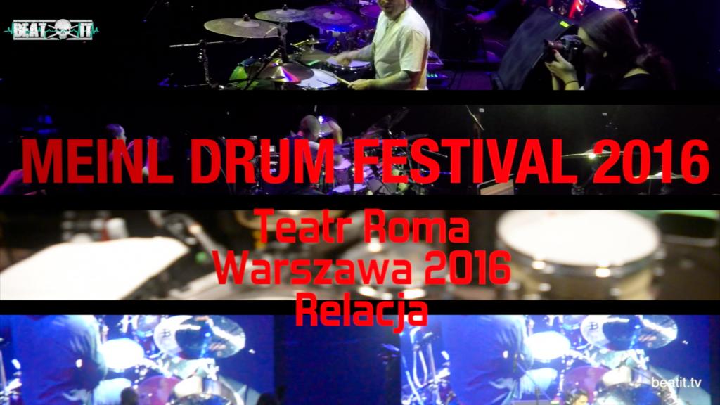 Meinl Drum Festival 2016 – reportaż