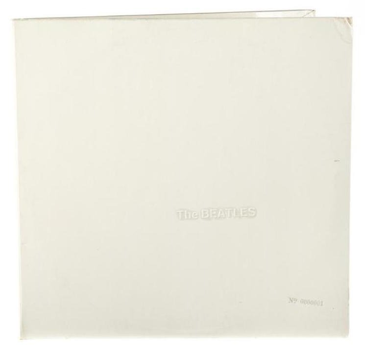 "Ringo Starr i kosztowny egzemplarz ""White Album"" The Beatles"