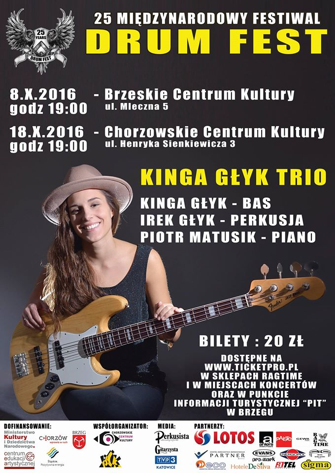 Drum Fest 2016: Kinga Głyk