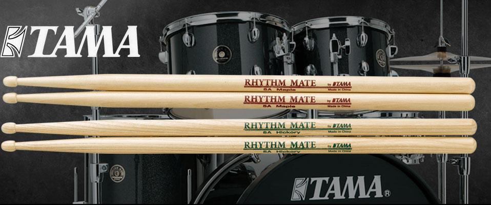 Nowe modele pałek Tama Rhythm Mate