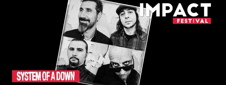 System Of A Down wystąpi w Polsce