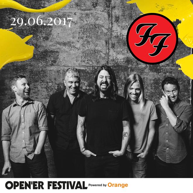 Foo Fighters wystąpi w Polsce