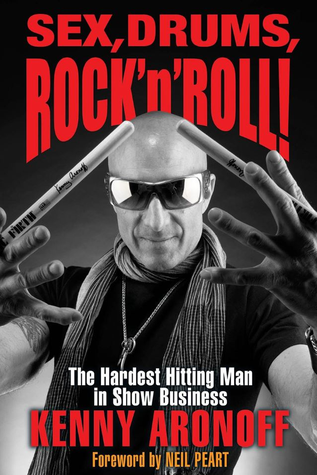Kenny Aronoff wydał autobiografię