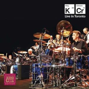 Gavin Harrison z King Crimson publikują live album