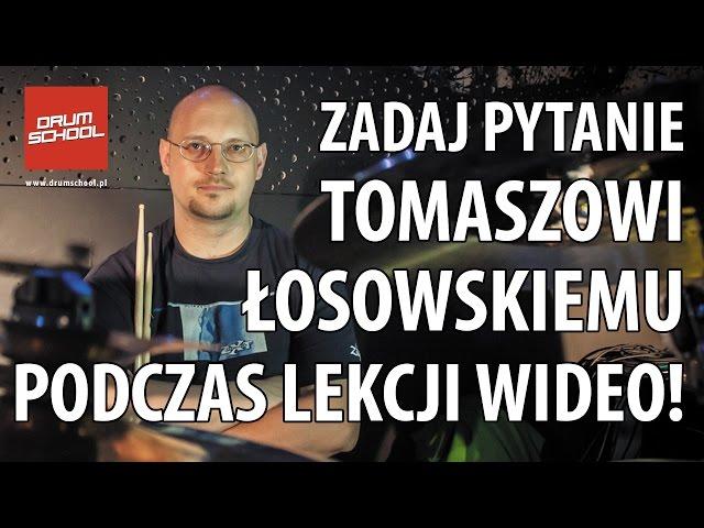 Lekcja wideo z Tomaszem Łosowskim